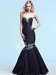 Black Mermaid Gown   Mac Duggal 61601Y