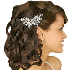 Vintage Inspired Swarovski Crystal Bridal Hair by Voguejewelry4u, $23.99
