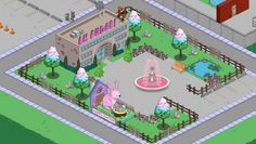 Springfield Showoff: Ah Fudge!The Simpsons Tapped Out AddictsAll Things The Simpsons Tapped Out for the Tapped Out Addict in All of Us Springfield Simpsons, Springfield Tapped Out, The Simpsons Game, Fudge, Adventure, Fingers, Layouts, Gaming, Design Ideas