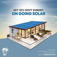 Get solar panels installed at your rooftop and get subsidy from the Indian Government for making the choice. Make a good choice today for a better future tomorrow. Solar Panel Companies, Solar Panel Manufacturers, Solar Energy Panels, Best Solar Panels, Energy Conservation Day, Solar Pannels, Solar Solutions, Solar Roof, Solar Installation