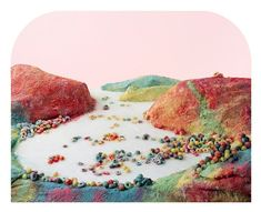 "Fruit Loops Landscape, 18x22"", archival pigment print, 2014. Finalist, LensCulture Earth Awards 2015. © Barbara Ciurej And Lindsay Lochman, 2014"