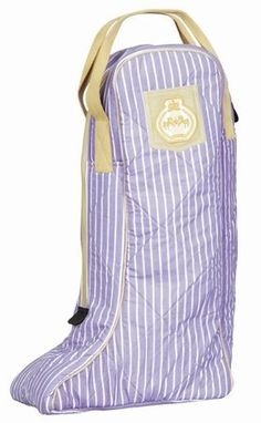 ASCOT BOOT BAG by JPC. $18.00. Don''t lug your boots around in just any bag. Keep them safe in this fun and fashionable Ascot Boot Bag. It''s sturdy, with nylon straps, which makes this one accessory that is easy to carry from show to show.