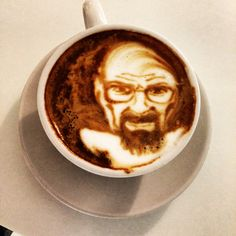 Latte Art by One of US Top Coffee Artists Michael Breach