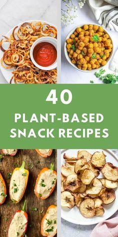 Whole Foods Vegan, Healthy Vegan Snacks, Vegetarian Snacks, Veggie Meals, Vegan Appetizers, Clean Eating Recipes, Raw Food Recipes, Snack Recipes, Healthy Recipes