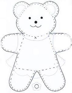 See Best Photos of Felt Bear Template. Teddy Bear Felt Template Bear Cut Out Pattern Winnie the Pooh Free Felt Templates Felt Teddy Bear Patterns Free Small Teddy Bear Patterns Felt Patterns, Applique Patterns, Sewing Patterns, Applique Templates, Knitting Patterns, Sewing Toys, Sewing Crafts, Sewing Projects, Free Sewing