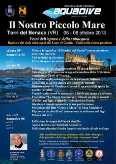 """Torri del Benaco: la festa dell'apnea e della subacquea """"Il Nostro Piccolo Mare"""" 2013 #NewsGC @GardaConcierge"""
