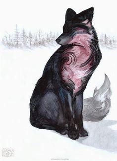 Adam S. Doyle  es un artista que crea animales monocromáticos. El protagonismo de sus obras recae en las marcadas pinceladas, que no intenta...