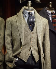 Mature Mens Fashion, Preppy Mens Fashion, Mens Fashion Suits, Mens Tweed Suit, Tweed Suits, Tweed Jacket, Tweed Run, Ivy Style, Smart Outfit