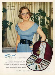 1949 Tura Eyewear Coloratura Collection
