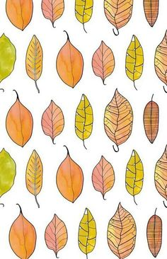 #leaves #background #autumn #nature