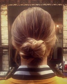 Hair How To: Chic Hair Knot | Divine Caroline