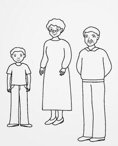 ...Το Νηπιαγωγείο μ' αρέσει πιο πολύ.: Η οικογένειά μου και το σπίτι μου σε ένα φάκελο!!! Τα πατρόν. Autumn Activities, Family Activities, My Family, Home And Family, All About Me Activities, Human Drawing, Crafty Projects, Drawing For Kids, Coloring Pages