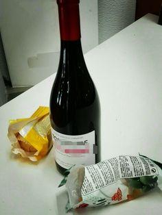 Snack & Wine.... #snack #wine