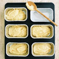 Lemon Pound Cake by Real Simple. This Lemon Pound Cake recipe is perfect for making individual servings which are great to give as gifts. You can even make them ahead and freeze for the ultimate convenient treat.