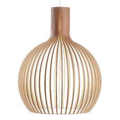 Houten Hanglamp Serie 100