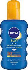 Nivea Sun Zonnebrand Spray Factor spf50 200ml Deze spray van Nivea met beschermingsfactor 50 is makkelijk in gebruik en wordt snel opgenomen door de huid. Daarnaast is de verpakking zo ontworpen dat u de spray heel makkelijk kunt vasthouden. Om uitdroging van de huid tegen te gaan zorgt de spray ervoor dat de vochtbalans op peil wordt gehouden. Het is aan te raden om de huid regelmatig goed in te sprayen voor een maximale bescherming tegen verbranden. Kenmerken- geavanceerd UVA/UVB…