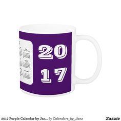 2017 Purple Calendar by Janz Coffee Mug