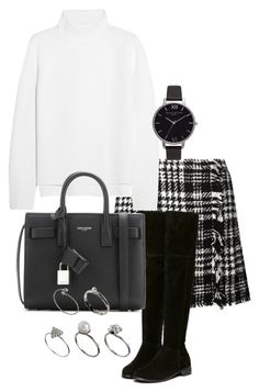 """""""Unbenannt #1212"""" by tyra482 ❤ liked on Polyvore featuring Dolce&Gabbana, Vanessa Bruno, Yves Saint Laurent, Olivia Burton and ASOS"""