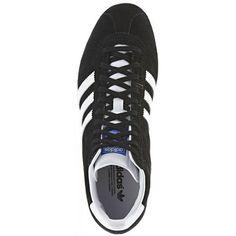 adidas - Gazelle OG Mid Schoenen Black / Running White / White Vapour D67845