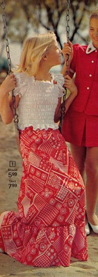 c77dc4ae232b0 SEARS CATALOG EARLY 1970's. I had that top! Vintage Clothes 70s, Vintage  Outfits