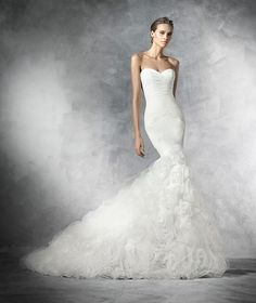 Tulle and organza dress