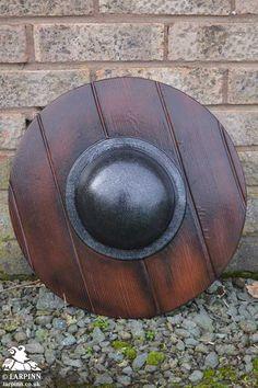 Wooden Buckler - LARP Shield - 40cm, Larp Inn- Shields