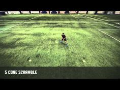 5 Cone Scramble - Stops and Starts | Nike Hockey Training