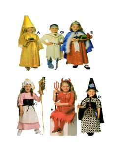 Toddler Halloween Costume Simplicity 0644 by FindCraftyPatterns