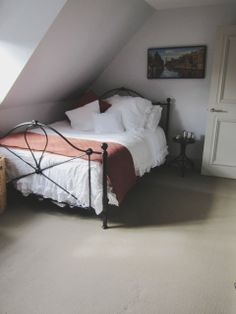 attic bedroom in London