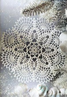 crochet doily by nkerestes