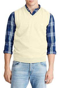 Chaps Big & Tall Cotton Sweater Vest | belk Cotton Vest, Cotton Sweater, Mens Big And Tall, Big & Tall, Striped Jacket, Crew Neck Shirt, Slacks, Mens Fashion, Big Family