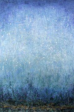 "iosonorockmaballoiltango: "" Beyondness of Blue - Patricia Oblack """