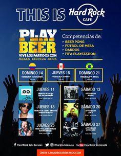Cresta Metálica Producciones » Agenda de Eventos Junio Hard Rock Caracas