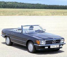 1985 mercedes benz convertible - i want it!