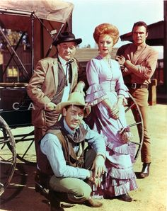 Gunsmoke Cast Classic Picture Premium Art Print – Celebrity Vault
