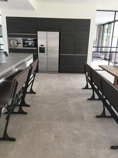 Vloertegels keuken natuursteenlook carriere du kronos gent 60x120 cm