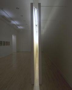 Bruce Nauman 'Corridor with Mirror and White Lights', 1971 © ARS, NY and DACS, London 2014