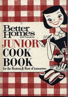 vintage Childrens Cook Books by better homes and garden