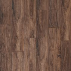 "Weathered Ridge is an 8"" wide plank that will bring the warmth and beauty of hickory to any room. Embossed in register for natural depth and texture, its color palette is rich with the tone of real hardwood."