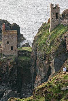 Botallack Tin Mine:Cornwall, England Image copyright John T. Baker Photographer LLC
