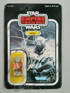Yoda 32 back vintage Kenner action figure 1981 by starwarsdan on Etsy Star Wars Set, Star Wars Toys, Childhood Toys, Childhood Memories, Vintage Toys 80s, Jouet Star Wars, Old School Toys, Star Wars Merchandise, Star Wars Action Figures