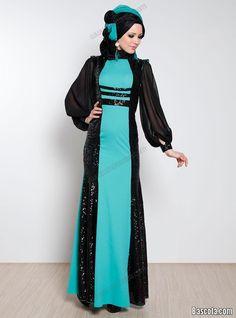 be4321762fbf6 فساتين سهرة للمحجبات 2013 فساتين سهرات حجاب 2014 فساتين محجبات للمناسبات  Arab Fashion