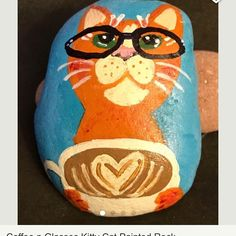 https://www.etsy.com/listing/519116336/coffee-n-glasses-kitty-cat-painted-rock?ref=shop_home_active_4.  #moonrocksart #paintedrocks #art #stones #moonrocks #cat #catsofinstagram #coffee #catwithglasses #catwithcoffee #etsy #etsyseller #catart