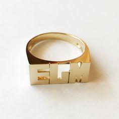 Medium Initial Ring