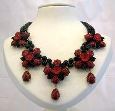 stanley hagler vintage jewelry | hagler jewelry | Vintage Stanley Hagler Necklace