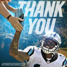 from Carolina Panthers Thank you for an amazing season #Panthers fans. We'll come back even stronger next season. #KeepPounding