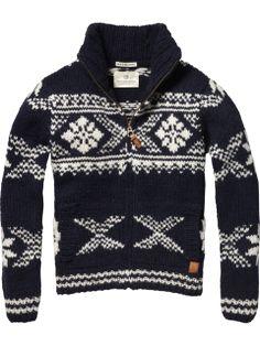 Knit Cardigan Sweater - hello winter!
