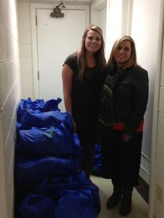 Great Lakes Church, 100+ Duffels for Kids bags assembled and delivered.  Thank you!!