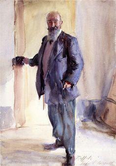 Portrait of Ambrogio Raffele, 1904-1911  John Singer Sargent