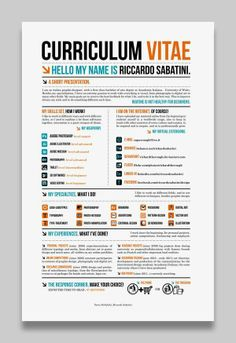 28 Amazing Examples Creative Resumes/CV